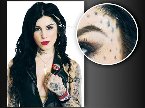 kat von d tattoos on her body the stories d s tattoos