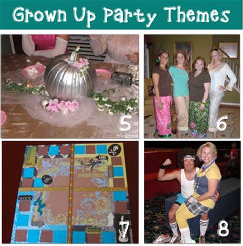 hot party themes for adults grown up birthday party themes tip junkie
