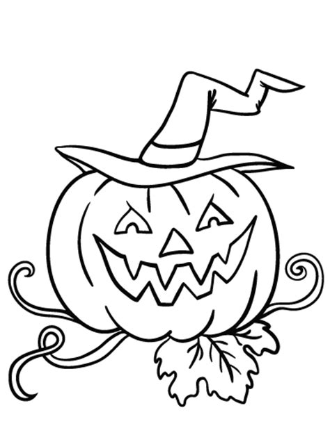 coloring pages for jack o lanterns free jack o lantern coloring page