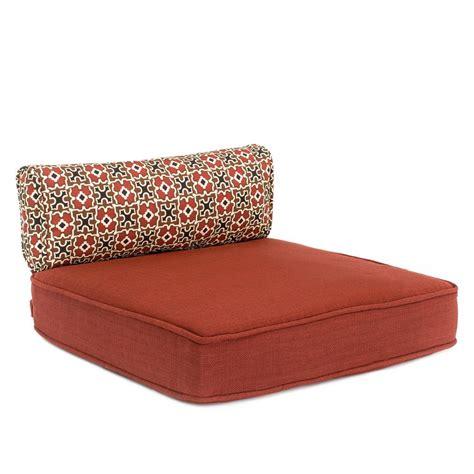 hampton bay edington lounge chair replacement seat   cushion   srl csh  home