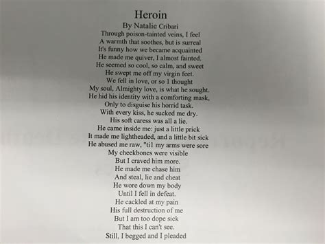 tion poem by david desantis poem heroin haunting poem by late gifted teen highlighted Addi