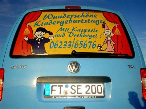 Autowerbung Kinder by Kinderanimation Schminken Frankenthal