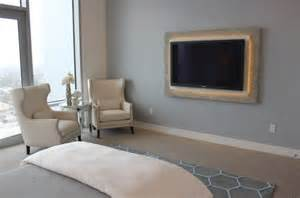 Tv Mount Bedroom by Using Led Lighting In Interior Home Designs