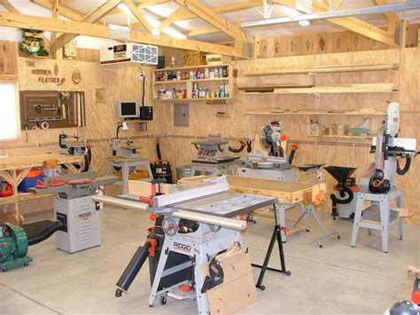 layout of carpentry workshop show us your shop page 4 woodworking talk