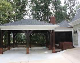 Carport Attached To Garage by Carport Designs On Pinterest Attached Carport Ideas