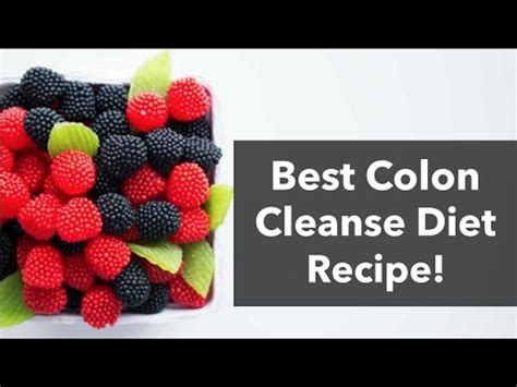 Bestever Detox Cleanse by The Best Colon Cleanse Recipe For Your Colon Detox Diet