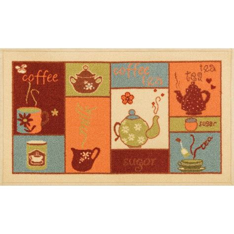 4 X 5 Kitchen Rug Well Woven Court Cafe Beige 1 Ft 8 In X 5 Ft Kitchen Area Rug 6612 2s The Home Depot