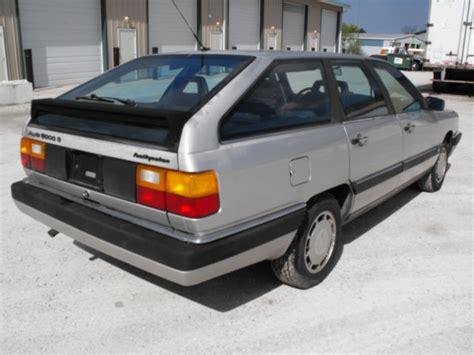 audi s wagon 1985 audi 5000 s wagon avant 5 speed manual