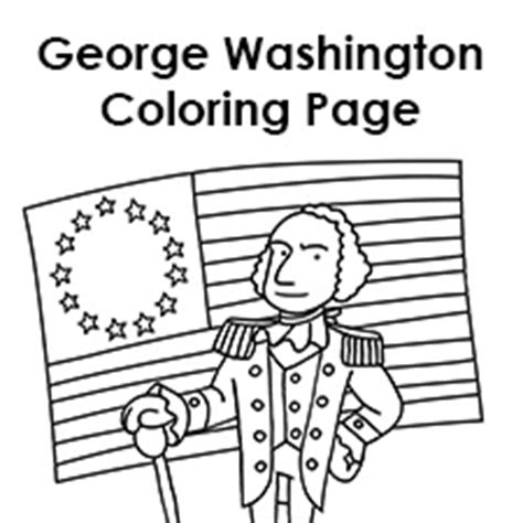 george washington coloring page for kindergarten about george washington coloring sheet kindergarten