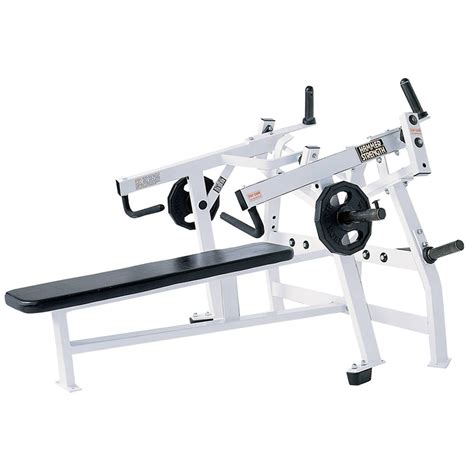 hammer strength bench press hammer strength plate loaded life fitness