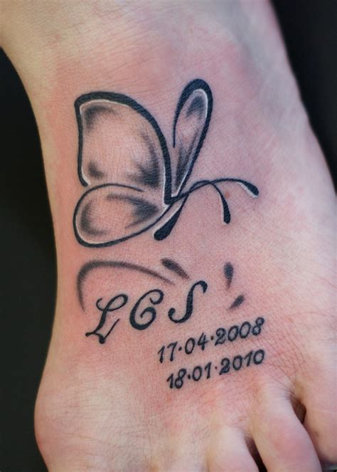 butterfly tattoo with numbers simple butterfly tattoo with lettering and numbers