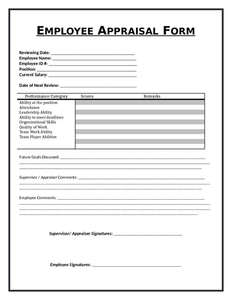 2018 Employee Evaluation Form Fillable Printable Pdf Forms Handypdf Employee Performance Evaluation Template