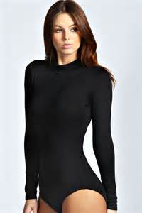 Sandwich Toasters Uk Eva High Neck Long Sleeve Bodysuit Black Black Online