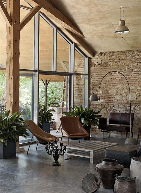 rustic modern home decor rustic meet modern in france i love curiosity