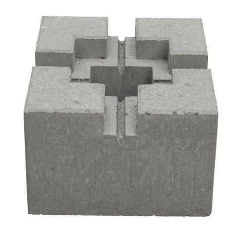concrete block deck support aumondeduvincom