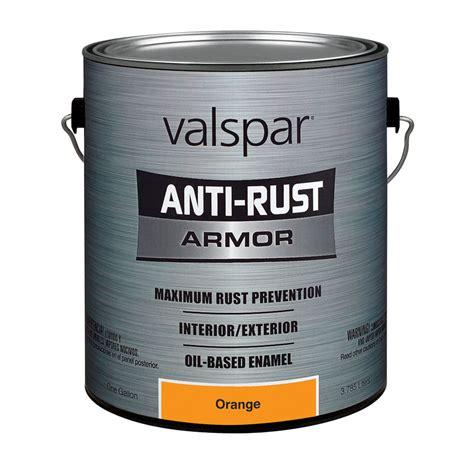 shop valspar 1 gallon interior exterior gloss orange base paint at lowes
