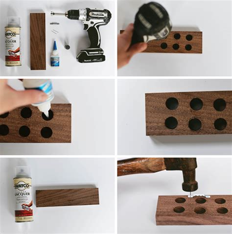 diy magnetic knife holder