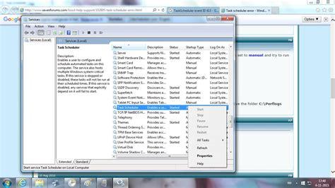 windows 7 task scheduler doesn t list my custom task s super user task scheduler the selected task quot 0 quot no longer exists
