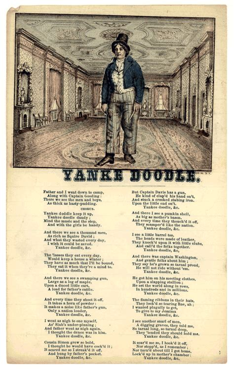 yankee doodle means let it fly yankee doodle a history
