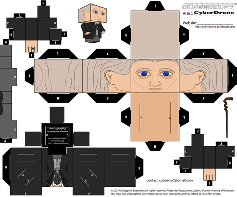 Custom Papercraft - cubee the 1st doctor by cyberdrone on deviantart