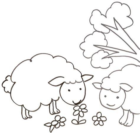 fiori da stare e ritagliare pecorelle da stare e colorare cose per crescere