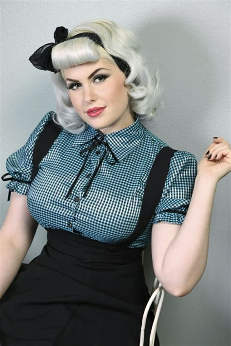 Hair Style Clothing by 66 Rockabilly Hairstyles The Trendy Combination Of Retro