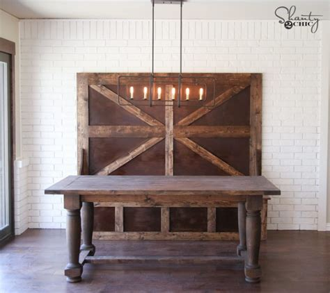 shanty to chic farmhouse table diy turned leg farmhouse dining table shanty 2 chic