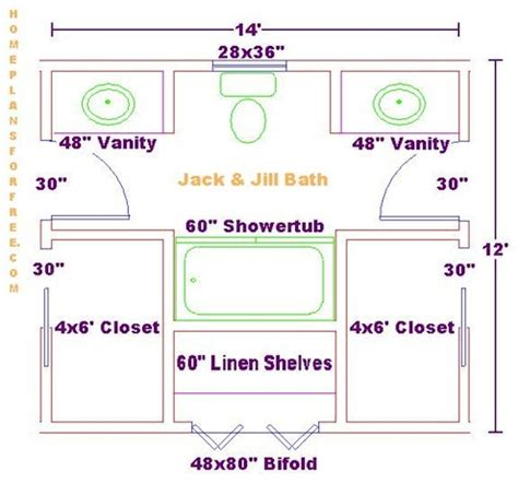 the benefits jack and jill bathroom layout floor plan full floorplan small