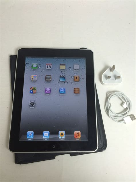 Tablet Apple 32gb 3g Wifi apple 1 a1337 32gb black wifi 3g ios 5 1 1 tablet