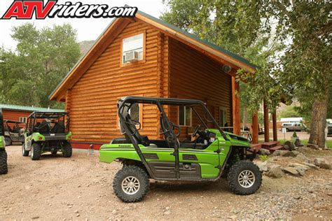 Marysvale Utah Cabins by 2014 Kawasaki Teryx 4 800 Review