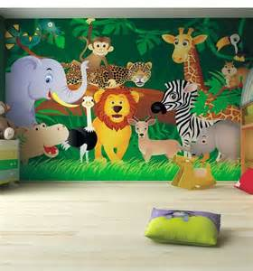 Children Wall Mural Kids Bedroom Ideas Zoo Wall Mural Kids Pinterest