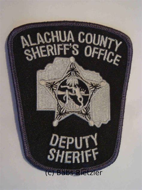 Alachua County Sheriff Office by Sheriff And Patches