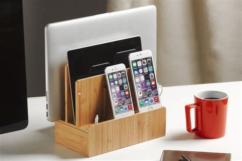 amazon com multi device charging station organizer imlezon 6 port the 7 best charging stations to buy in 2018