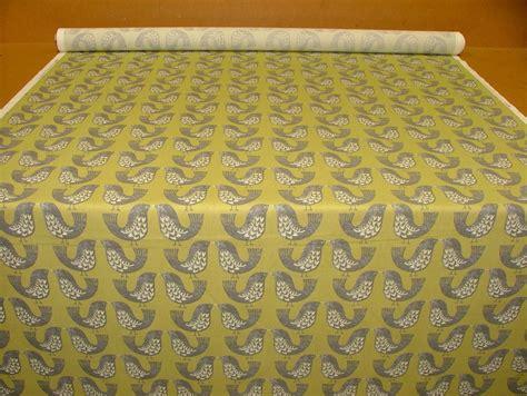 scandinavian upholstery fabric iliv kiwi scandinavian scandi birds designer curtain