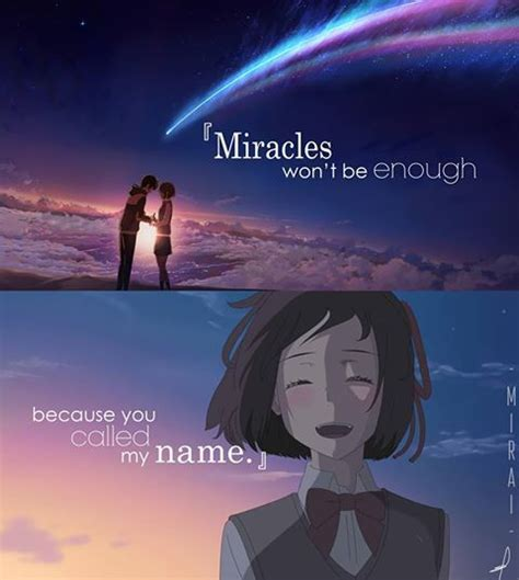 anime in your name best 25 your name anime ideas on kimi no na