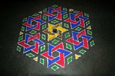 geometric pattern rangoli geometric rangoli maths pinterest