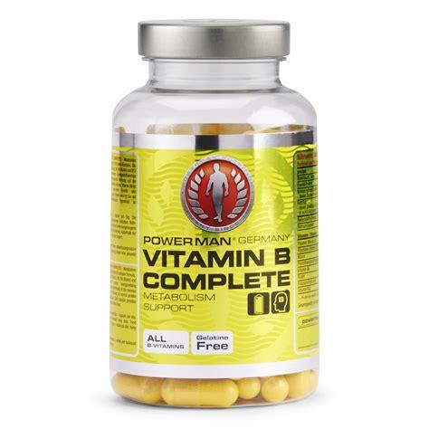 Vitamin B Detox Rash by Powerman Vitamin B Complete Buy Mankind