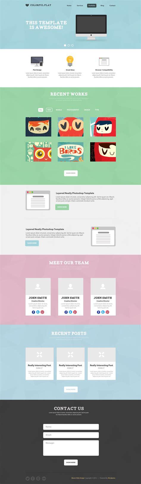 70 best one page website templates free premium freshdesignweb