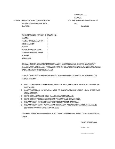 contoh surat lamaran asesor ban pt lowongan kerja