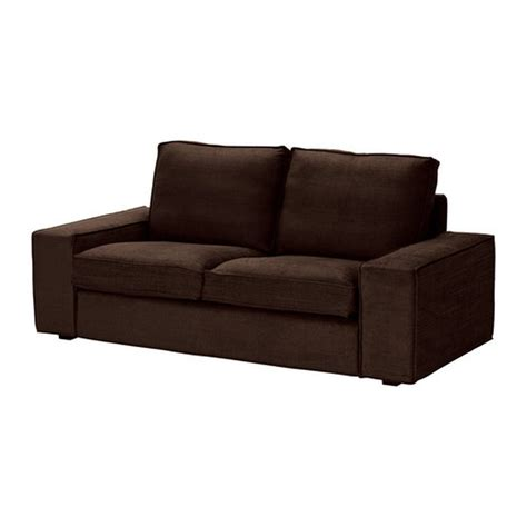 brown slipcover ikea kivik 2 seat loveseat sofa slipcover cover tullinge