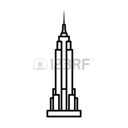 Window Covering by Empire State Building Clipart Clipground