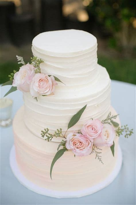25  best ideas about Wedding Cake Simple on Pinterest   Elegant wedding cakes, Simple elegant