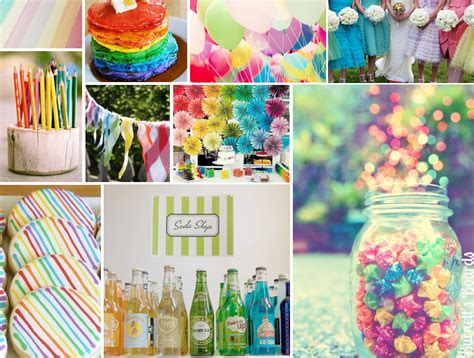 colour themed party decorations tbdress blog wedding theme ideas by colours rule every season