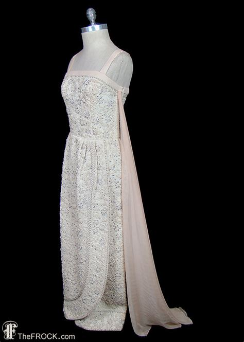 Pedro Embroidered pedro rodriguez embroidered goddess evening gown or wedding