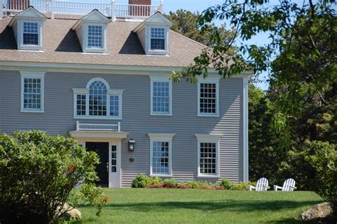 classic colonial homes our process colonial exterior trim and siding our