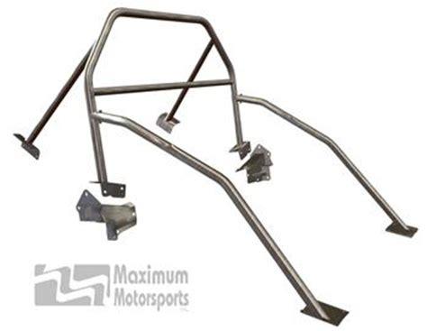 maximum motorsports mustang nhra 6 point roll bar 05 14