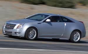 2011 Cadillac Cts Coupe Car And Driver