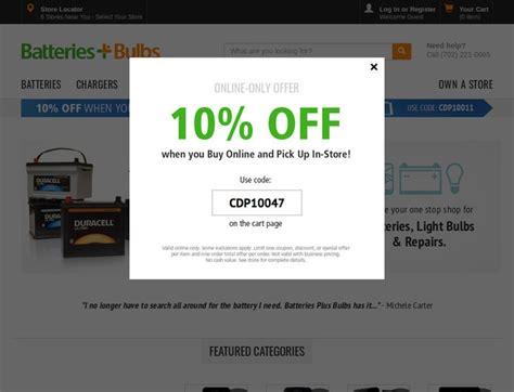 ls plus discount coupons batteries plus coupons batteriesplus com discount codes