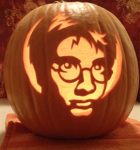 harry potter pumpkin light by johwee on deviantart