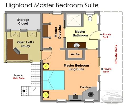 master bedroom floor plan modern floor plan highland